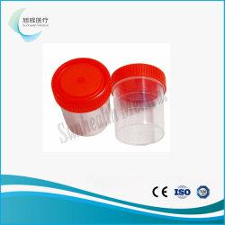Médicaux jetables de haute qualité de l'urine tasse en plastique stérile