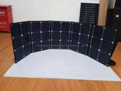 Bewegliche faltende 100W 12V Sunpower Sonnenkollektor-Aufladeeinheit für Powerbank, Laptop, Batterie der Mobiltelefon-12V