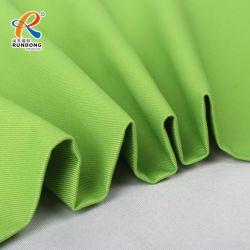 El Teñido de continuo de la CVC 60/40 240gsm tejido sarga para ropa de trabajo