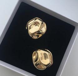 Alimentação Direta de fábrica Nice jóias de ouro de 18K brinco, roupa DIY brinco