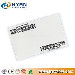 Version imprimable/code-barres personnalisés imprimés en PVC en plastique de la carte à puce avec ou sans puce RFID