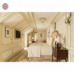 판매/주문을 받아서 만들어진 현대 별 세개 호텔 가구를 위한 Bedstead를 가진 Foshan Shunde Lecong 호텔 침실 세트