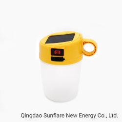 Forma de Copa Popular Solar LED Lámpara de estudio con IP65 y Shock-Proof