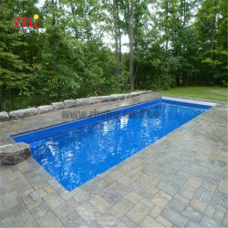 La fibra de vidrio por encima del suelo natación piscina GRP