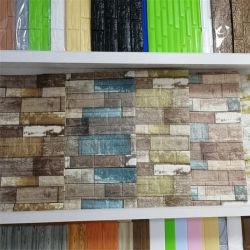 取り外し可能な3D壁紙XPEの泡のレンガ壁のステッカーのホーム装飾