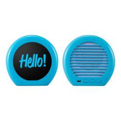 Beste Gift van de Spreker van Bluetooth van het nieuwe Aangepaste Privé Model Mini Draagbare LEIDENE van de Bevordering Embleem van Backlight de Creatieve voor Kerstmis