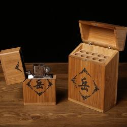 パッキングシガーの煙るアクセサリのタバコボックスを販売する卸し売りカスタムロゴの友好的で贅沢な工場