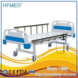 Bon marché à deux fonctions médical électrique pliant ADJUSTABLE HOSPITAL BED lit patient USI (TN-821)