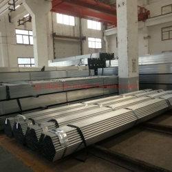 ASTM 53 heiße eingetauchte galvanisierte quadratische hohle Stahlrohre für Aufbau und strukturell