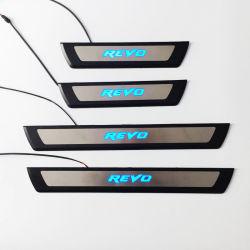 Hilux Revo 2015년을%s 가벼운 문 훈장 손질 스테인리스 외부 부속품을%s 가진 Ycsunz 문 문턱