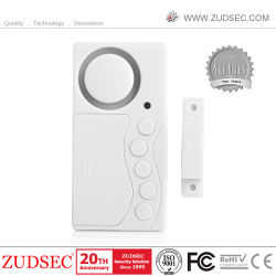 108dB 4 etapas Time-Delayed Sensor Magnético de recordatorio de la puerta de seguridad personal de la alarma alarma de puerta/ventana