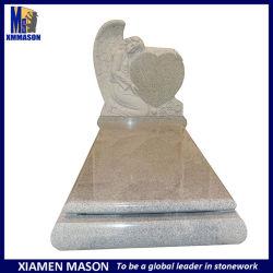 Monument van uitstekende kwaliteit van de Engel van de Stijl van Arica van het Zuiden G603 het Grijze Graniet Gesneden met Goedkope Prijs