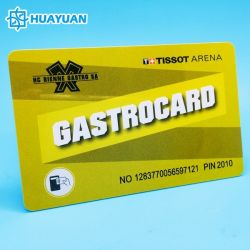 L'impression photo NTAG 13.56MHz NFC216 ID de carte à puce RFID en plastique