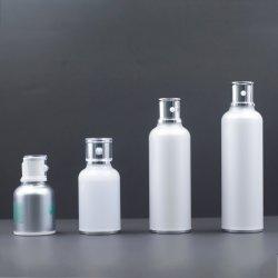 120ml/100ml kundenspezifisches Firmenzeichen kundenspezifisches kosmetische Lotion-Pumpen-Flaschen-Kunststoffgehäuse