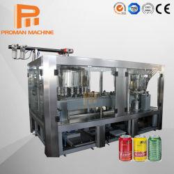 30 - 50 bpm em aço inoxidável Isobar refrigerantes podem abastecer a máquina para bebidas carbonatadas