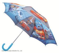17 pouces figure l'impression de dessins animés pour enfants droites parapluie ensoleillé et Rainy