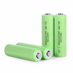 Batteria ricaricabile calda di Naccon 1.2V aa 1200mAh NiMH di vendita per il giocatore del gioco