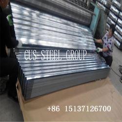 9 ondas 28 preço de fábrica do medidor da Malásia a placa de cobertura de ferro galvanizado