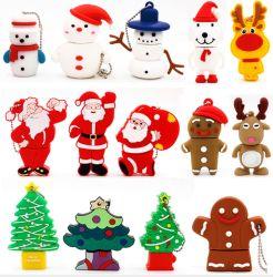 Weihnachten Snowman PVC USB Flash/Memory Stick