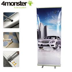 Impresión Digital Diseño personalizado de acumulación de aluminio Soporte Banner