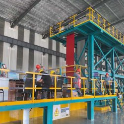 خط إنتاج مواد البناء/خط طلاء الألوان/الماكينة/PPGI