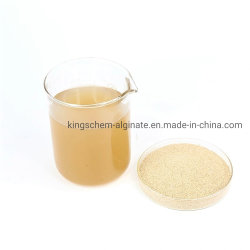 최고 가격 직물 급료 풀 첨가물을 인쇄하는 높은 점성 나트륨 Alginate