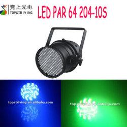 204*10mm RGB LED Stage Lighting LED PAR 64 204-10s