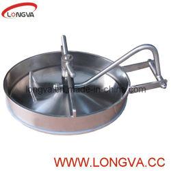 Dekking van het Mangat van de Tank van het Roestvrij staal van het Type van druk de Sanitaire