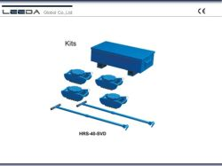 40ton beenden Maschinerie-Rollen-Rochen-Installationssatz mit Diamant-Stahloberseite Hrs-40-Svd