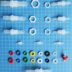 البلاستيك المعدات الطبية الرعاية الصحية مرفق موج للأنبوب الطبي وصلات قوالب حقن