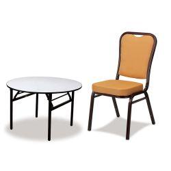 Группа Аренда мебели прочного раунда свадьбы складные столы и стулья