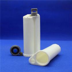 خرطوشة مزدوجة 50 مل 10: خرطوشة واحدة PBT تحتوي على مادة ملصقة على السطح الصلب، خرطوشة مسدس مزدوجة لاصقة لإلاصق أكس AB Acrylic