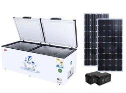 600 litri congelatore di frigorifero profondo solare del frigorifero della cassa da 12/24 di volt