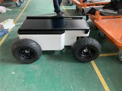Bewegliches Knall-Roboter-Grün-leistungsfähige intelligente mechanische Plattform unbemannter Ground Industrialisation De L'automatisation Robotic