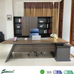Muebles modernos de madera clásica de lujo Jefe Ejecutivo de la Mesa despacho con el retorno de tabla (QH20. B2400A)