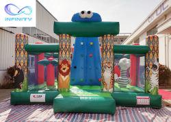 Taille personnalisée de vente chaude en plein air gonflable en escalade paroi de la tour pour les enfants