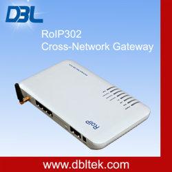 RoIP-Cruz-Red 302 millones ROIP puerta de enlace / sistema de intercomunicación (Radio sobre IP) / Radio portátil