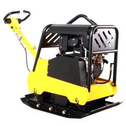 Road vibrador de concreto a gasolina da máquina a potência do motor do compactador de placa