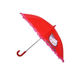 أحمر أزياء منخفض السعر السلامة مظلة مخصصة للأطفال 3D الحيوانات