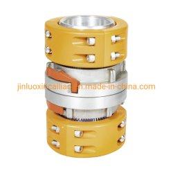Los racores de aleación de aluminio metal