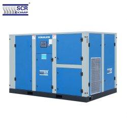 La technologie japonaise s'appliquent Airend haute efficacité de la SCR530lbpm série vis basse pression compresseur d'air pour les boissons