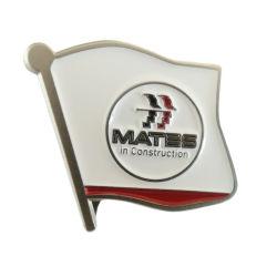 Пользовательские формы флага высокого качества Металлический бейдж на подарок для продвижения