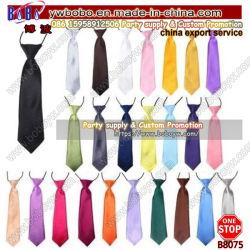 Bocal elástica cinta de retenção de Casamento Cravat Escola uniforme de retenção da Universidade de Alimentação Escolar (B8075)