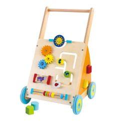 도매 나무로 되는 실행 교육 배우는 아이 나무로 되는 아기 보행자 장난감을 가장한다