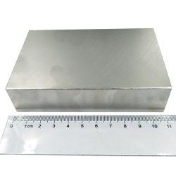 الصين المصنعين في الصين Big Size Square أكبر قوي نيوديميوم N52 مغناطيس الكتلة