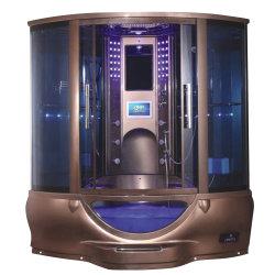 Un design moderne de la Pologne une cabine de douche, salle de vapeur de luxe de prix