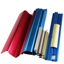 Kundenspezifische anodisierenaluminium des strangpresßling-175.1 * 29.4 * 100 mm