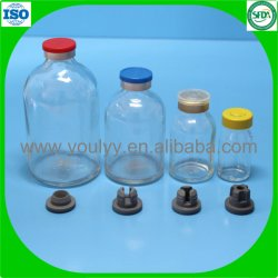 Les bouteilles en verre moulé pour liquide