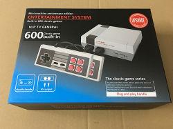 2018 도매 Retro 게임 장치 Entainment 시스템 600의 게임을%s 가진 일반적인 소형 가족 텔레비젼 영상 소형 게임 장치