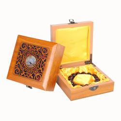 Le bois Food Box Boîte de vin en bois Bracelet boîte cadeau en bois d'emballage